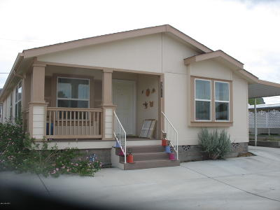 Tucson AZ Manufactured Home Active Contingent: $149,900