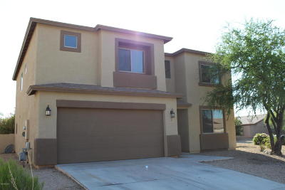 Pima County Single Family Home Active Contingent: 6291 W Sky Flower Drive