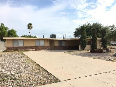 Tucson Single Family Home For Sale: 8411 E Medford Place