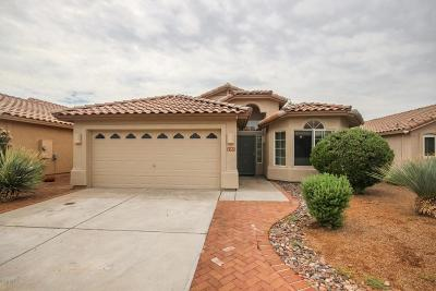 Pima County Single Family Home For Sale: 2583 W Bluffs Peak Court