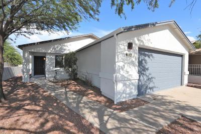Tucson Single Family Home For Sale: 6103 S Avenue De La Chandelle