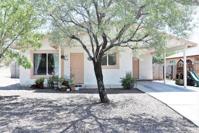 Pima County Single Family Home For Sale: 718 W Carolchristine Place