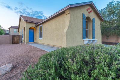 Pima County, Pinal County Single Family Home Active Contingent: 5283 E Desert Straw Lane