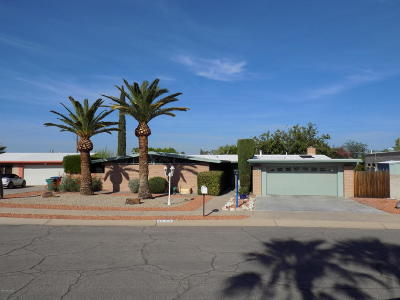 Tucson AZ Single Family Home Active Contingent: $265,000