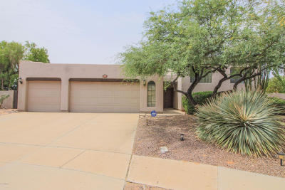 Oro Valley Single Family Home Active Contingent: 191 W Saddletree Place
