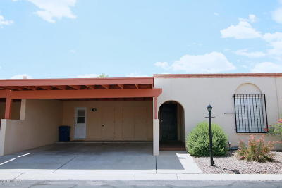 Pima County Townhouse For Sale: 850 S Ciudad Circle