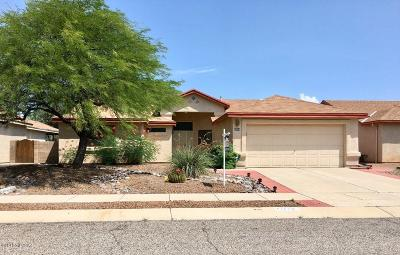 Tucson AZ Single Family Home For Sale: $214,800