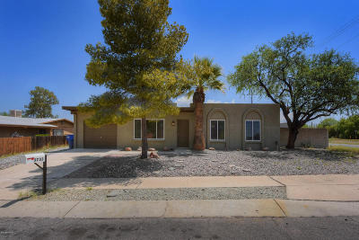 Tucson AZ Single Family Home For Sale: $184,900