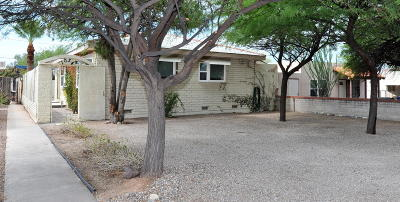 Tucson Single Family Home For Sale: 1034 E Linden Street