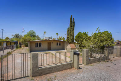 Tucson AZ Single Family Home For Sale: $152,500