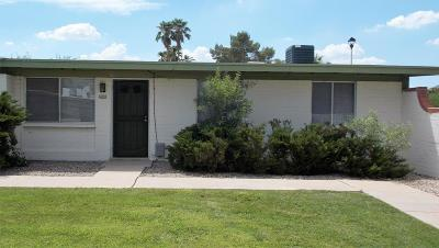 Pima County Townhouse For Sale: 4001 S Shady Palm Drive