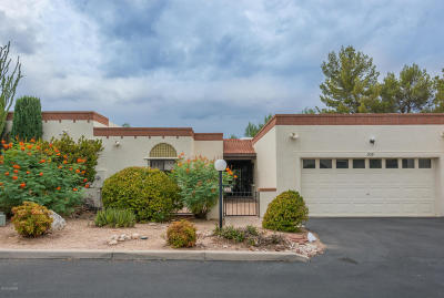 Tucson Townhouse For Sale: 939 W Palma De Pina
