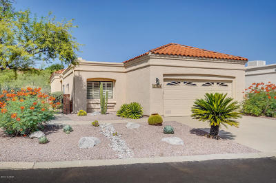 Tucson Single Family Home Active Contingent: 5501 N Via Papavero