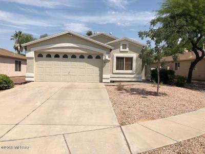 Single Family Home Active Contingent: 10101 E Desert Valley Place
