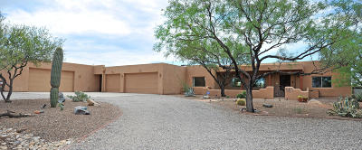 Tucson Single Family Home For Sale: 2851 S Quail Trail