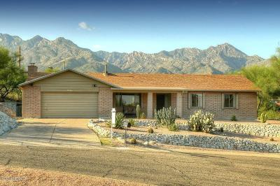 Tucson Single Family Home For Sale: 7355 E Stillwater Drive