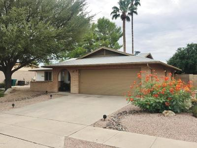 Tucson Single Family Home For Sale: 7490 E La Cienega Drive