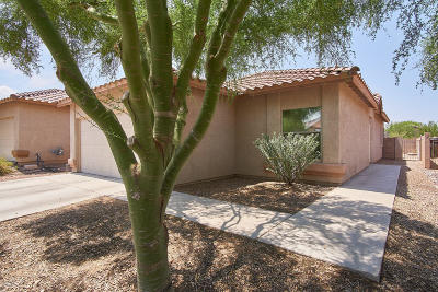 Tucson Single Family Home Active Contingent: 8291 N Rocky View Lane