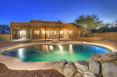 Tucson Single Family Home For Sale: 11549 E Tanque Verde Road