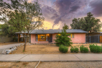 Pima County, Pinal County Single Family Home Active Contingent: 6518 E Fordham Drive