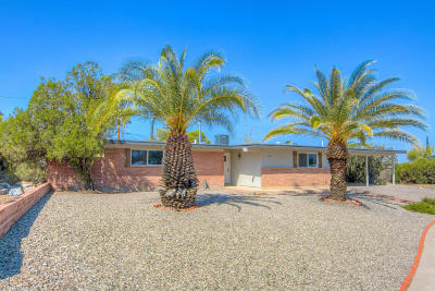 Tucson Single Family Home For Sale: 8340 E Balfour Place