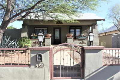 Pima County Single Family Home For Sale: 738 E Mabel Street