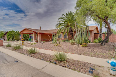 Tucson Single Family Home For Sale: 7307 N Camino De La Tierra