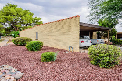 Pima County Townhouse For Sale: 8126 E Estes Lane