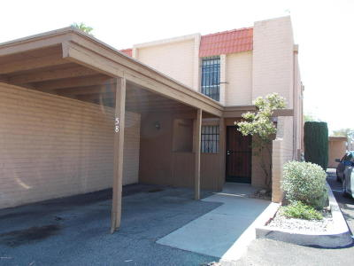 Pima County, Pinal County Condo For Sale: 2875 N Tucson Boulevard #58