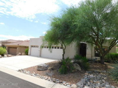 Tucson Single Family Home For Sale: 38536 S Lake Crest Drive