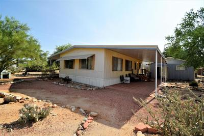 Pima County Manufactured Home For Sale: 3120 W Lobo Road #3