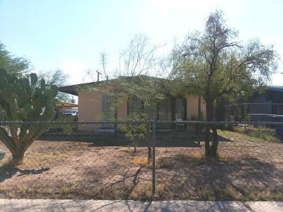 Tucson AZ Single Family Home For Sale: $94,000