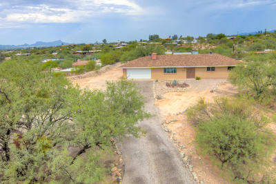 Tucson Single Family Home For Sale: 870 W Roller Coaster Road