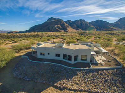 Tubac Single Family Home For Sale: 20 Quail Lane