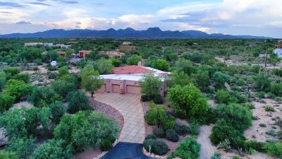 Pima County, Pinal County Single Family Home Active Contingent: 5133 W Camino De Manana