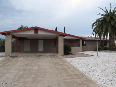 Tucson Single Family Home For Sale: 691 N Colette Circle
