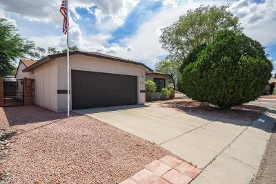 Tucson Single Family Home For Sale: 2591 W Glenbrook Way