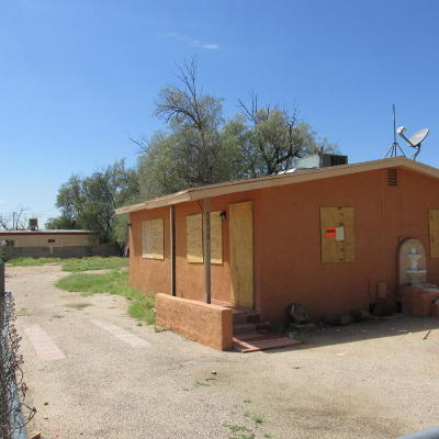 Pima County Single Family Home For Sale: 5518 S White Rock Avenue