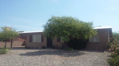 Tucson AZ Single Family Home For Sale: $185,000