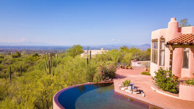 Tucson Single Family Home For Sale: 3201 E Blossom Dancer Lane