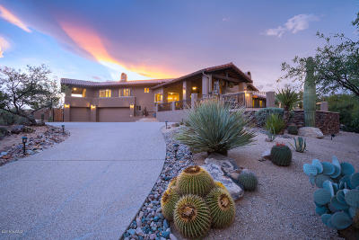 Oro Valley Single Family Home Active Contingent: 12107 N Sliding Rock Place