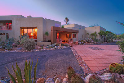 Pima County Single Family Home Active Contingent: 11865 N Vista Del Sol