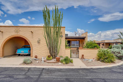 Pima County Townhouse For Sale: 1360 W Aztec Court