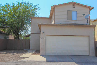 Pima County Single Family Home For Sale: 846 W Thurber Road