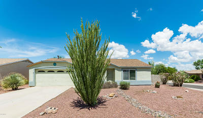 Tucson Single Family Home For Sale: 7714 W Rising Moon Way