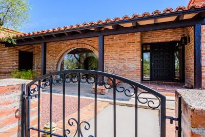 Tucson Single Family Home For Sale: 1131 E Chulla Vista Road E