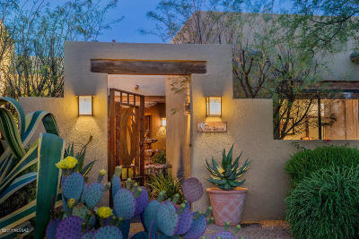 Tucson Single Family Home Active Contingent: 9700 N Linda Vista Ranch Place