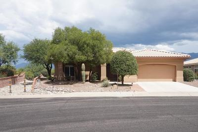 Oro Valley Single Family Home Active Contingent: 14760 N Desert Rock Drive