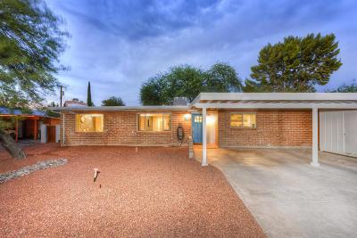Tucson Single Family Home Active Contingent: 2650 N Avenida Carolina