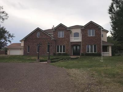 Cochise County Single Family Home For Sale: 2000 E Sierra View Lane
